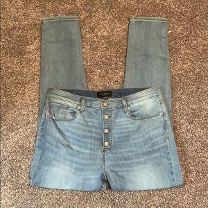 Banana republic high waist jeans